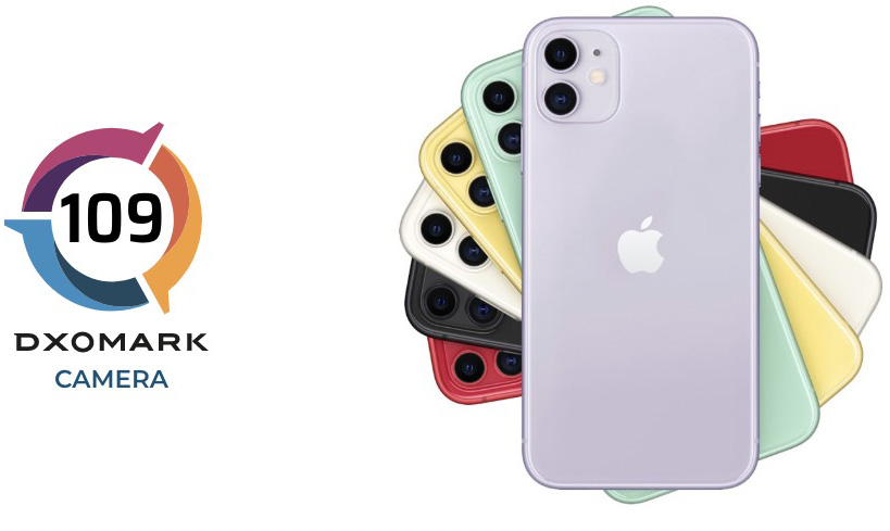 iPhone 11 DxOMark 109