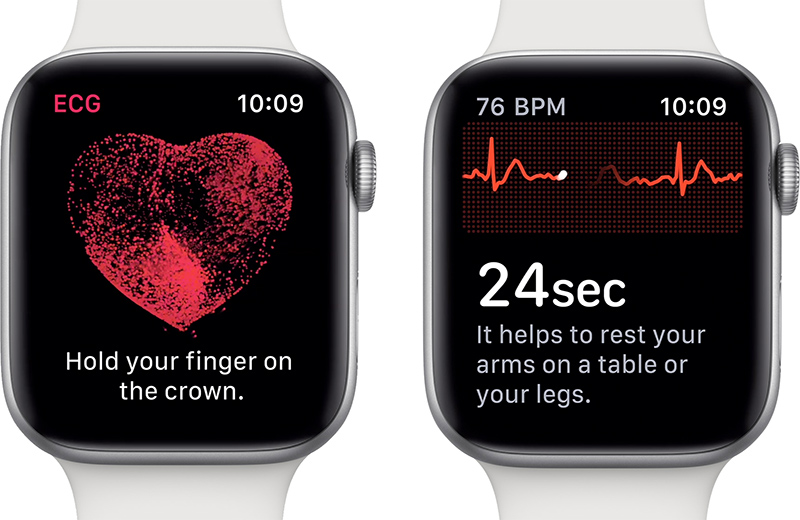 Apple Watch and Johnson Heartline