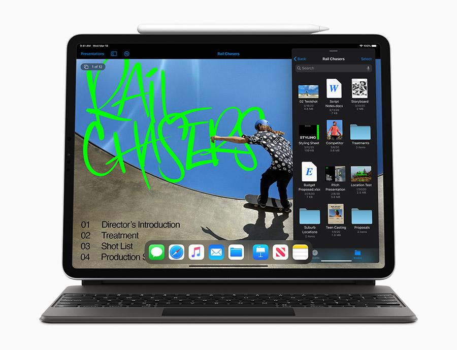 Apple 發表全新 iPad Pro,配備突破性光學雷達掃描儀,並為 iPadOS 帶來觸控式軌跡板支援
