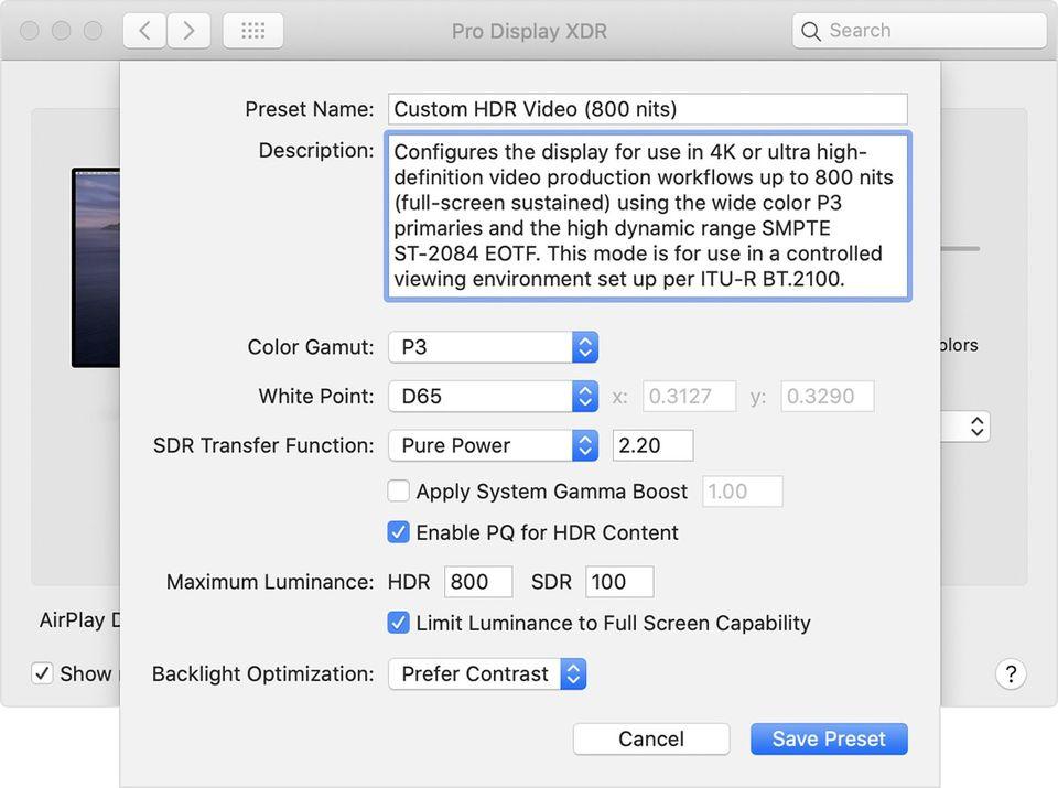 蘋果 Pro Display XDR 螢幕更新!支援自定義參考模式