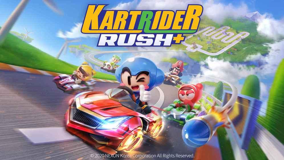 回憶殺!《跑跑卡丁車 Rush+》iPhone 版台灣上架