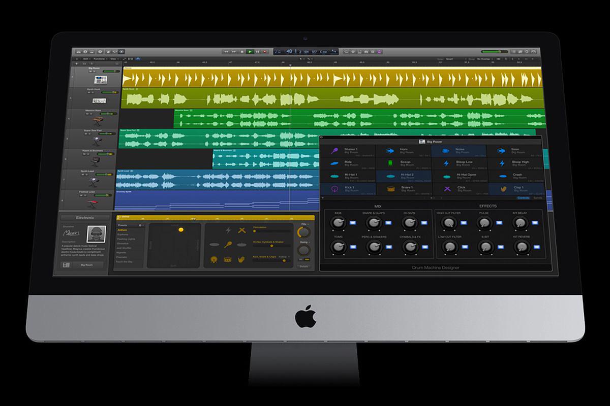 Logic Pro X 新增即時循環樂段功能!專業級音樂製作
