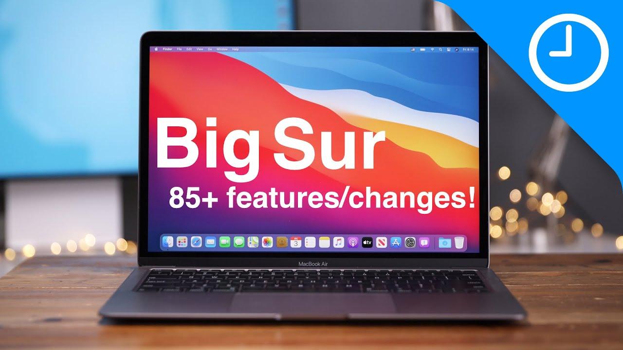 這影片讓你了解 macOS Big Sur 的 85 個新功能和改進