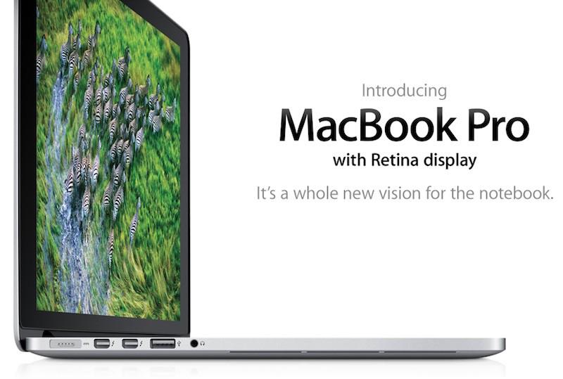 經典一代 Retina MacBook Pro 已是過時與停產產品