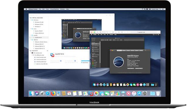 VMWare Fusion 11 brings macOS Mojave updates.