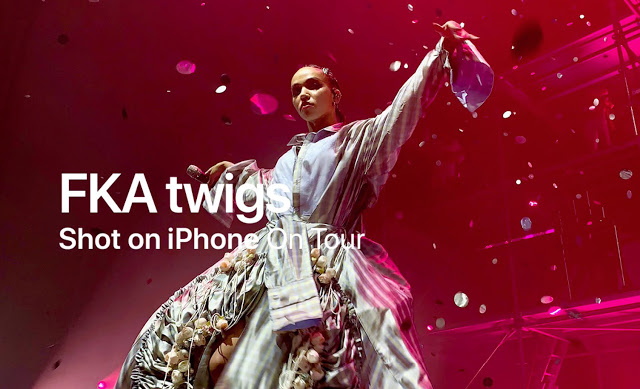 Shot on iPhone XS — On Tour with FKA twigs