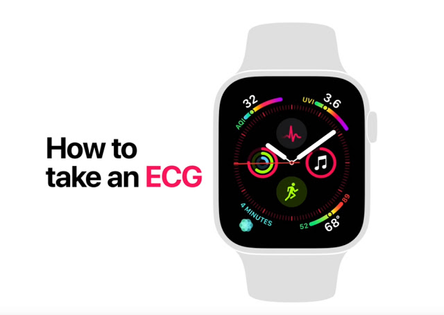 Apple Watch Series 4 — How to take an ECG